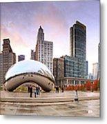 Millennium Park, Chicago, Illinois,usa Metal Print