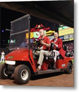 Milwaukee Brewers V St. Louis Cardinals Metal Print