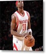 Milwaukee Bucks V Houston Rockets Metal Print