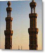 Minarets Metal Print
