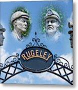 Miners Of Rugeley Metal Print