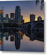 Minneapolis 13 Metal Print
