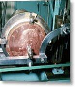 Minting Of Eisenhower Dollar Coin Metal Print