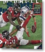 Miracle Catch, Comeback, Crown Sports Illustrated Cover Metal Print