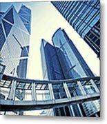 Modern Office Buildings Metal Print