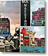Mol Maestro Collage Metal Print