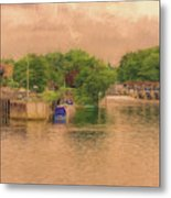 Molesey Lock And Weir Metal Print
