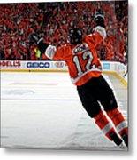 Montreal Canadiens V Philadelphia Metal Print