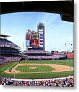 Montreal Expos V Philadelphia Phillies Metal Print
