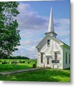 Moose Brook Chapel Metal Print