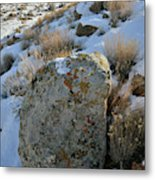 Morning At The Book Cliffs Metal Print