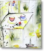 Morning By The Artist Catalina Lira Metal Print