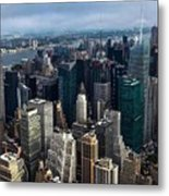 Morning In The City  Metal Print