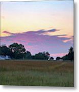 Morning Skies Over Gettysburg Metal Print