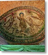 Mosaics Of Mausoleo Metal Print