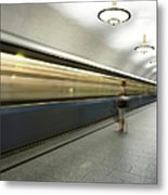 Moscow Metro Metal Print
