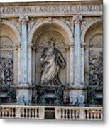Moses Fountain Metal Print