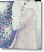 Mother And Child By Wilhelm List Metal Print
