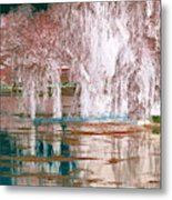 Mother Willow Altered Infrared Metal Print