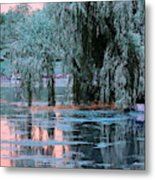 Mother Willow Infrared Metal Print