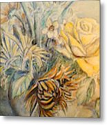Mother's Day Flower Metal Print