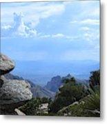 Mount Lemmon View Metal Print