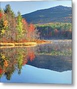 Mount Monadnock In Autumn Metal Print