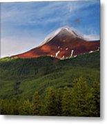 Mountain Peak - Jasper National Park Metal Print