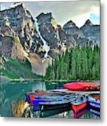 Mountain Tranquility Metal Print