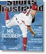 Mr. October, 2013 Mlb Baseball Preview Issue Sports Illustrated Cover Metal Print