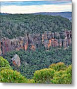 Mt Piddington - Nsw - Australia Metal Print