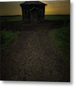 Mud Hole  Metal Print