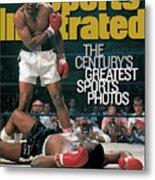 Muhammad Ali, 1965 World Heavyweight Title Sports Illustrated Cover Metal Print