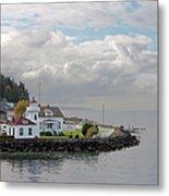Mukilteo Lighthouse On Puget Sound Metal Print