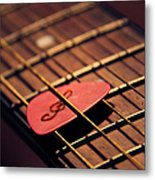 Music Key Metal Print