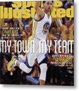 My Town, My Team Steph Curry And The Warriors Return The Sports Illustrated Cover Metal Print
