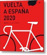 My Vuelta A Espana Minimal Poster 2020 Metal Print