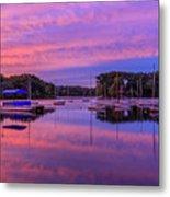 Mystic Lake Sunrise Metal Print