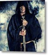 Mystic Monk Metal Print