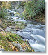 Nantahala Fall Flow Metal Print