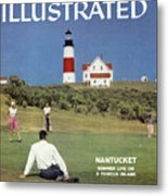 Nantucket Island Golf Sports Illustrated Cover Metal Print