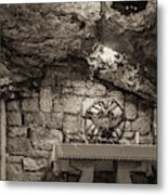 Nativity Cave Metal Print
