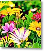 Naturalness And Flowers 35 Metal Print