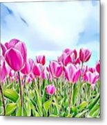 Naturalness And Flowers 48 Metal Print