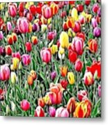 Naturalness And Flowers 55 Metal Print