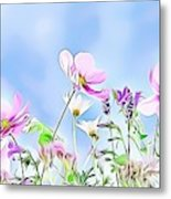 Naturalness And Flowers 59 Metal Print