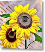 Naturalness And Flowers 60 Metal Print