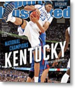 Ncaa Basketball Tournament - Final Four - Championship Sports Illustrated Cover Metal Print