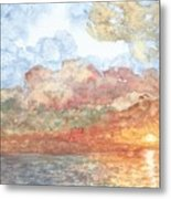 New Every Morning Metal Print