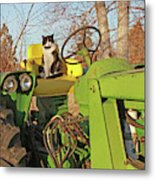New Hired Hand Metal Print